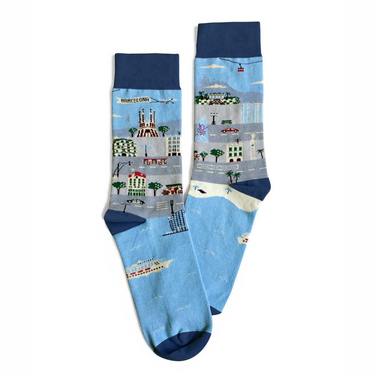 "Calcetines ""Walking Barcelona"""