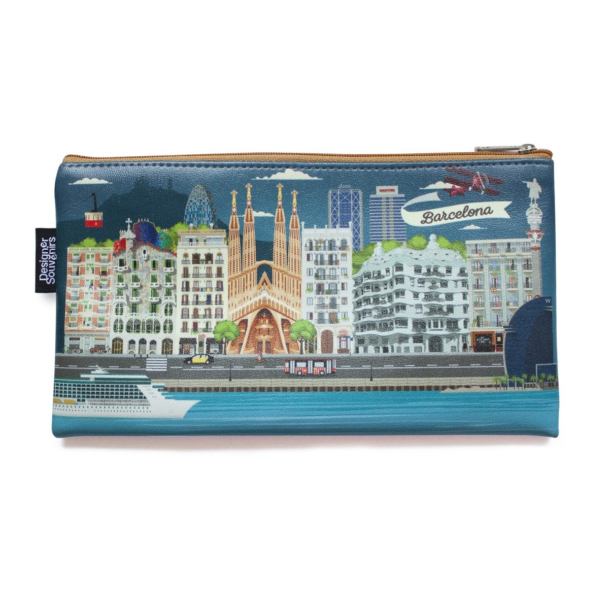 """""""Barcelona Highlights"""" Pouch"""