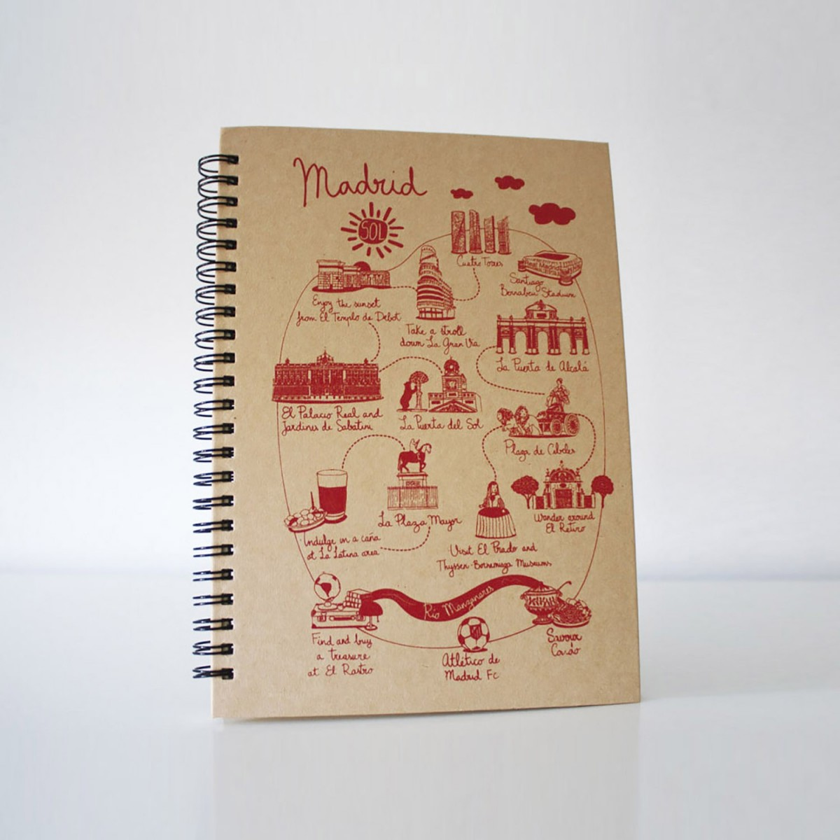 "Libreta ""Illustrated Map..."