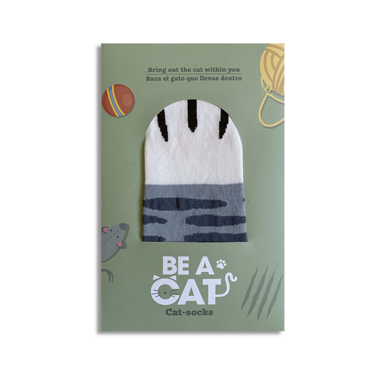 """Calcetines-Gato """"Be a Cat"""""""